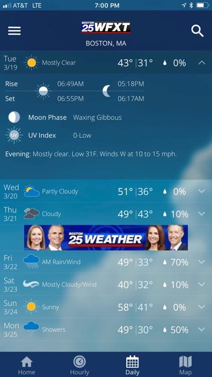 Boston 25 Weather screenshot-3