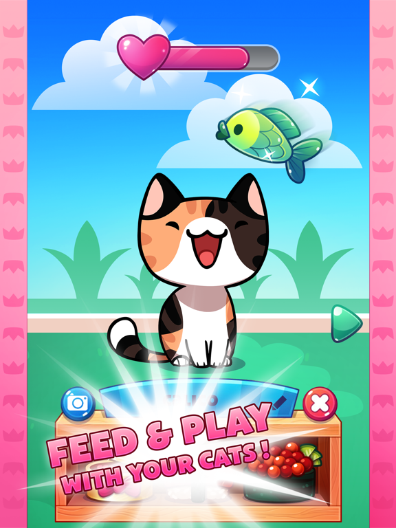 iPad Image of Cat Game - The Cats Collector!
