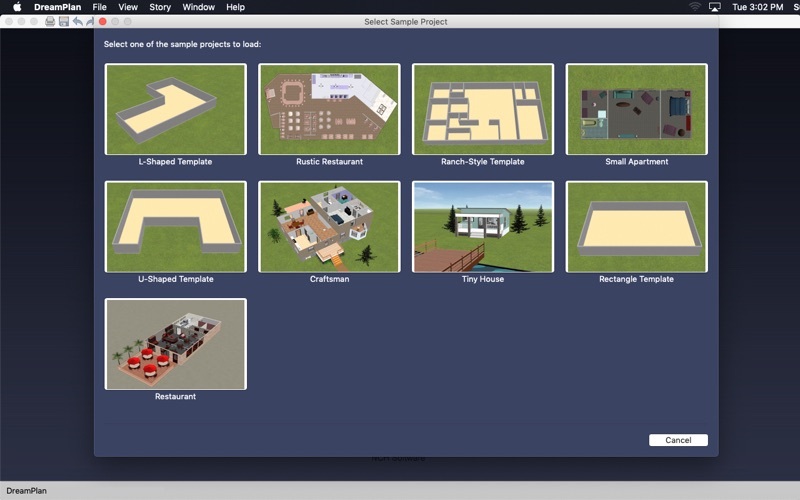 DreamPlan Home Design Software Screenshot