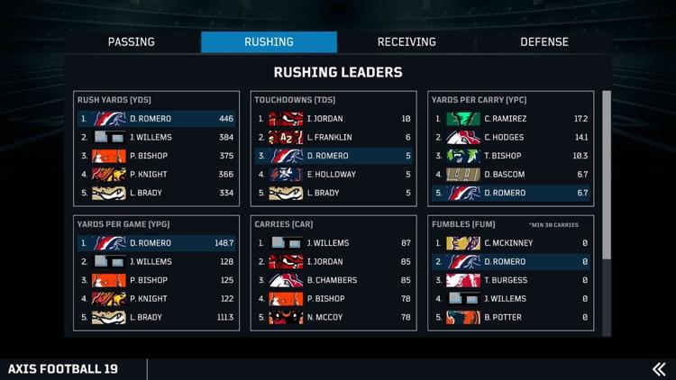 Axis Football screenshot-7