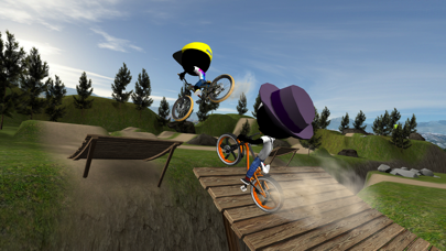 Screenshot from Stickman Bike Battle