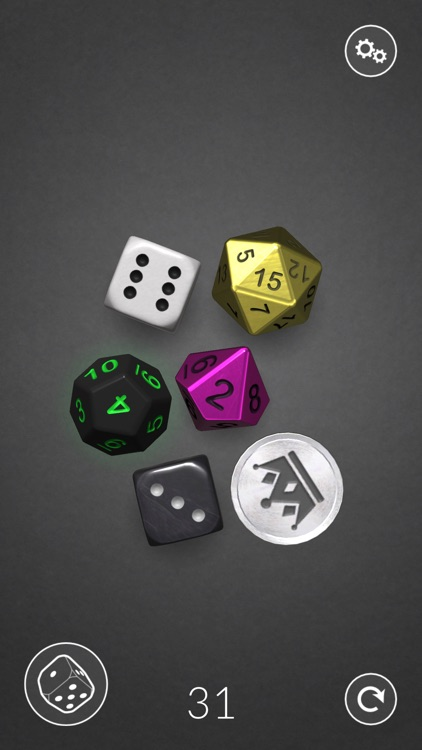 Dice Bag - 3D dice screenshot-0