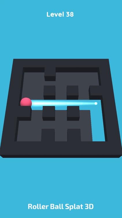 Roller Ball Splat 3D screenshot-5
