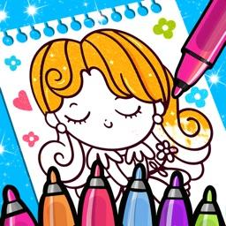 Princess Coloring And Drawing
