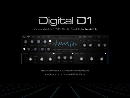 AudioKit Digital D1 Synth Screenshots