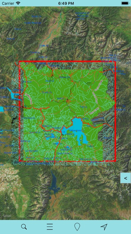 Yellowstone National Park GPS