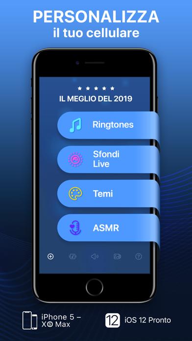 Screenshot for Suonerie e sfondi animati in Italy App Store