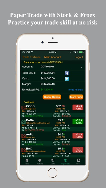 Stocks Tracker:Real-time stock screenshot-3