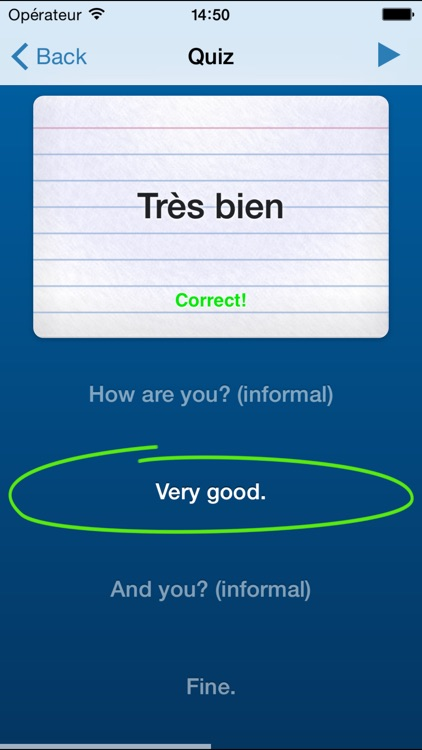 Learn French - Très Bien screenshot-3