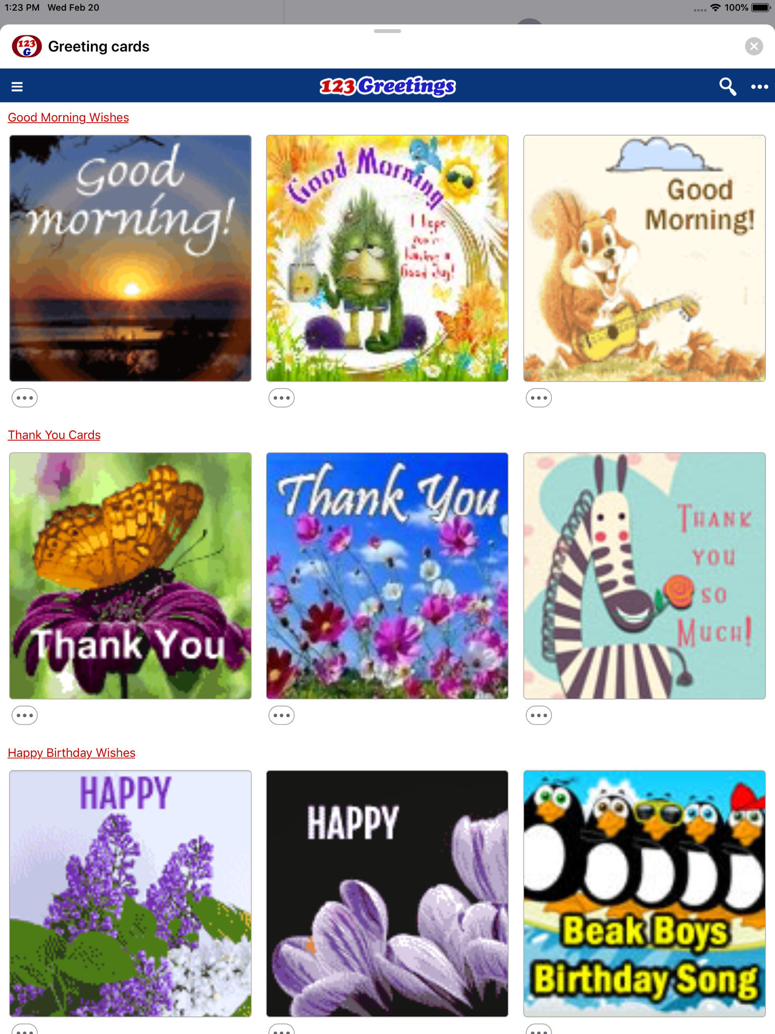 Greeting Cards Wishes Revenue Download Estimates Apple App Png 1535x2048 123greetings Birthday Ecards Funny Images