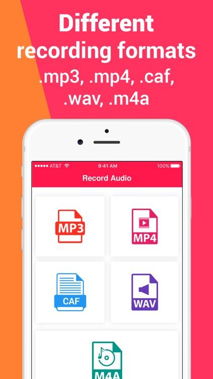 Voice Recorder: Notes Audio screenshot-3