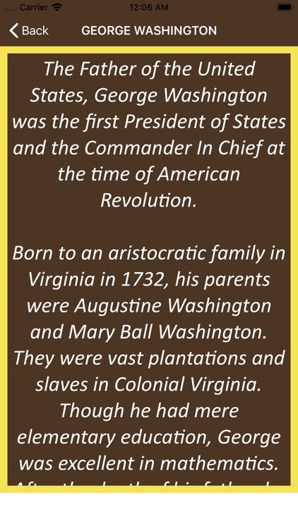 Wisdom of George Washington screenshot-3