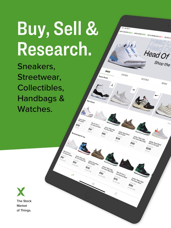 iPad Image of StockX - Buy & Sell Authentic