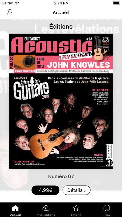 Guitarist Acoustic Unplugged Screenshot