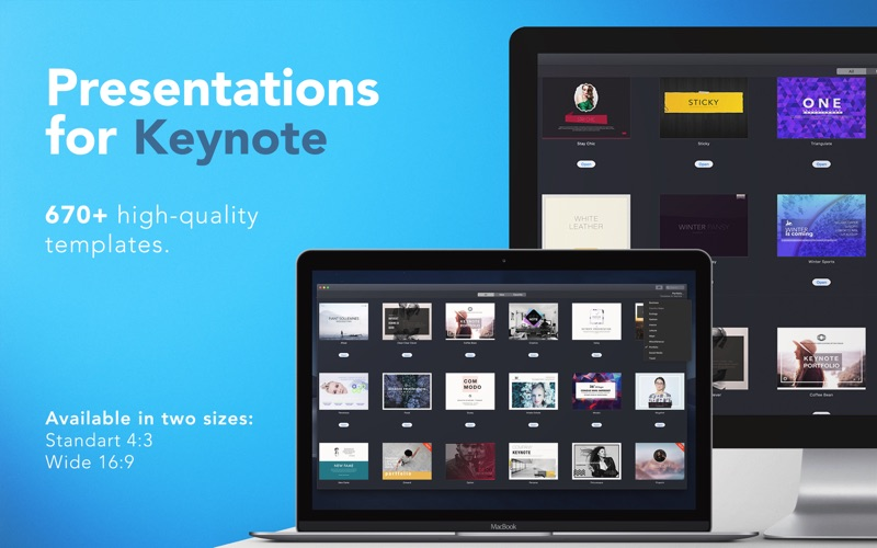 Templates for Keynote - DesiGN Screenshots