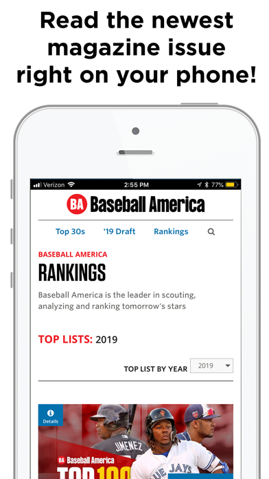 messages.download Baseball America software