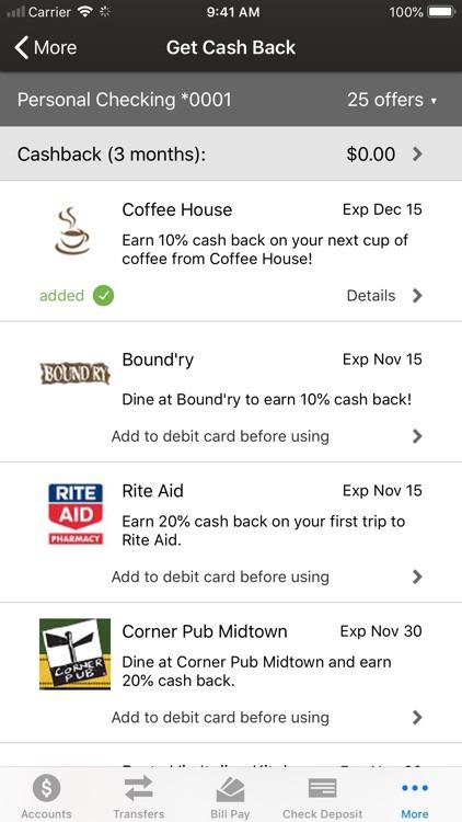 Haddon Savings Bank Mobile screenshot-6