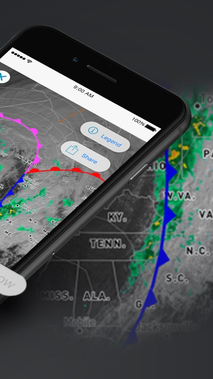 Weather Underground: Local Map