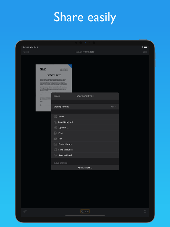 JotNot Scanner App Pro Screenshots