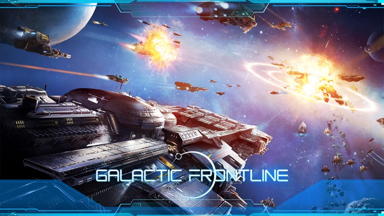 Galactic Frontline:リアルタイム SFスト screenshot-0