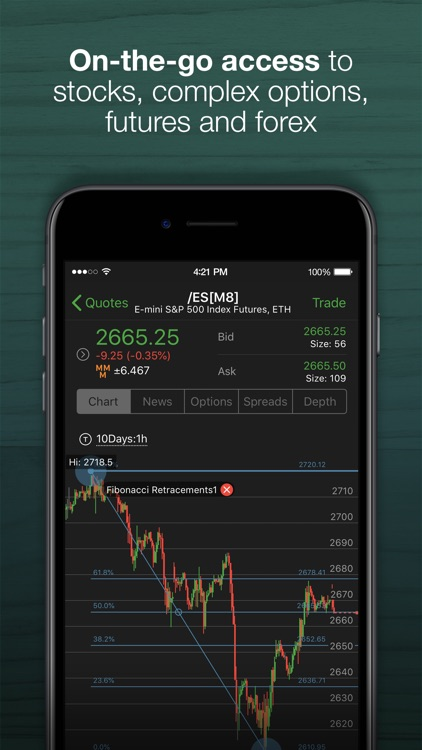 TD Ameritrade: Mobile Trader screenshot-0