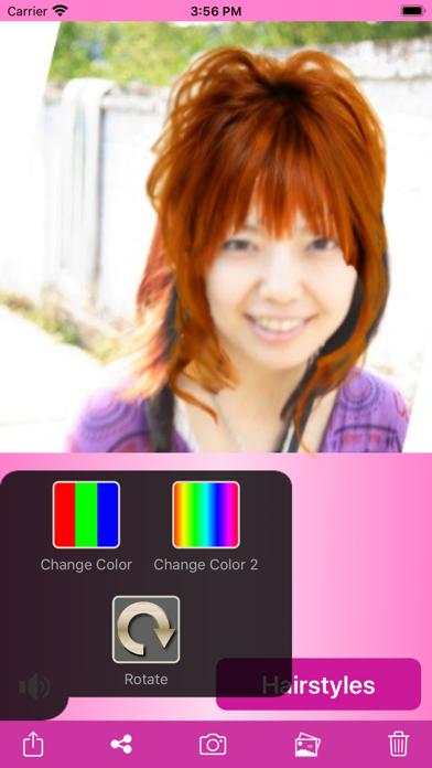 Try Hairstyle Lite screenshot