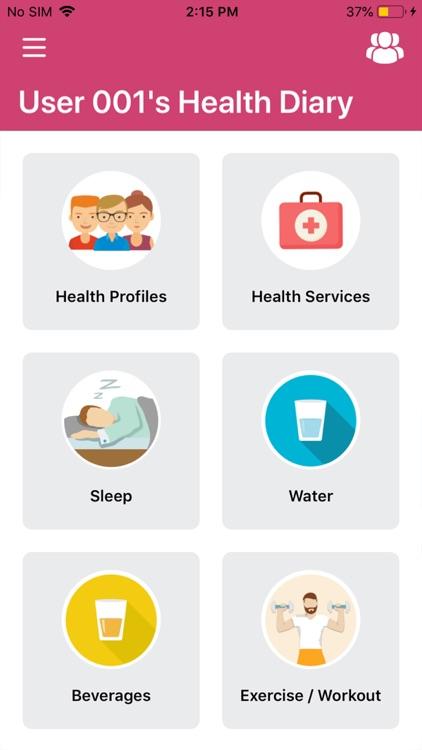 Health Diary App