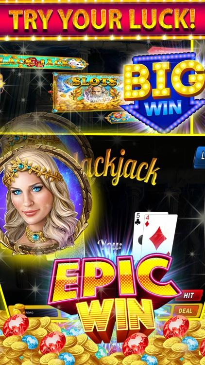 Gods Rich Casino Slots Machine screenshot-3