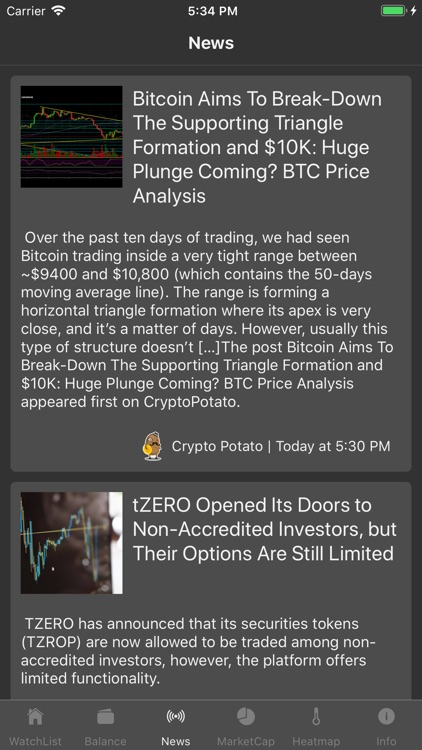 Coin Tracker - Crypto Prices screenshot-4