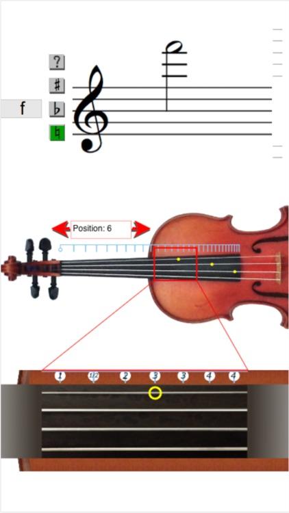 Violin Note Finder screenshot-4
