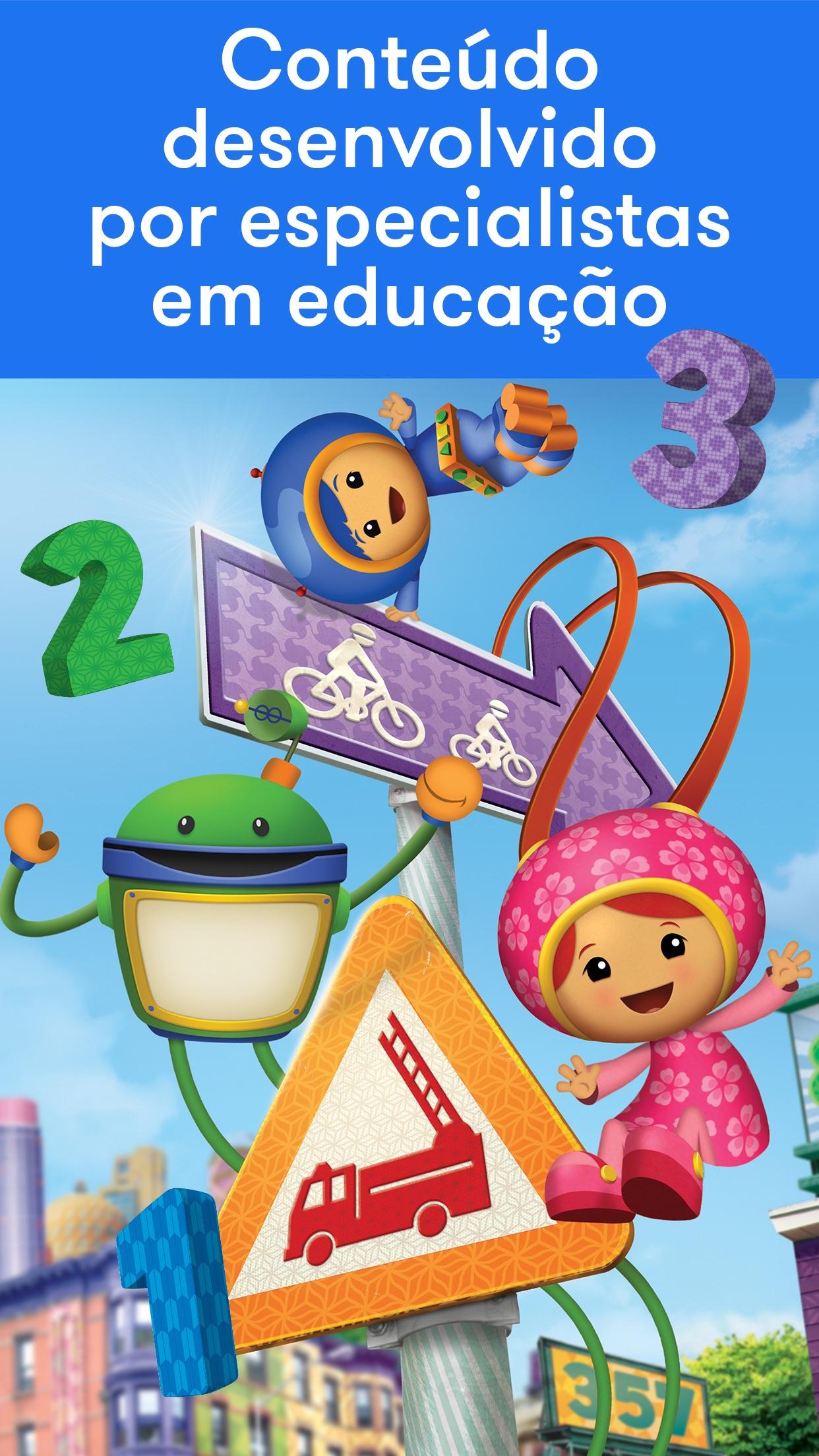 Screenshot do app Noggin by Nick Jr.