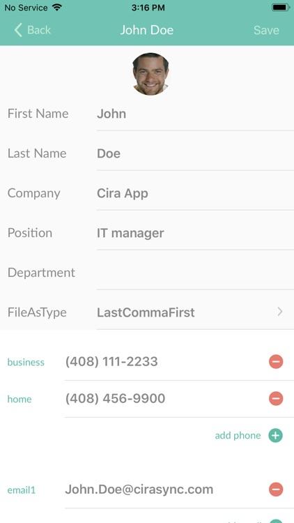 CiraSync Public Folders O365 screenshot-3
