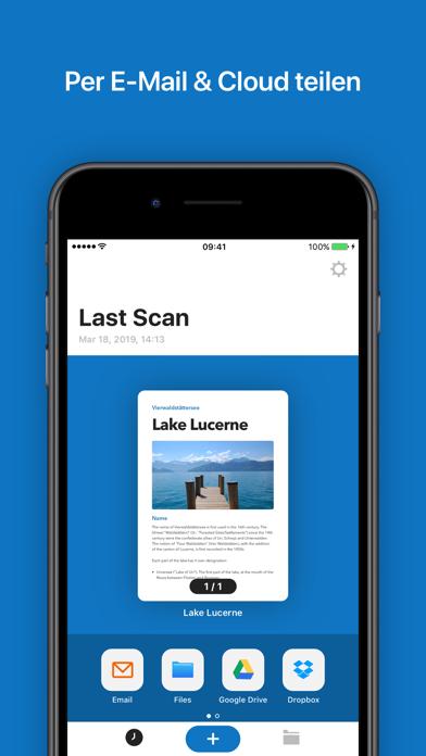 Screenshot for Tiny Scanner Pro in Switzerland App Store