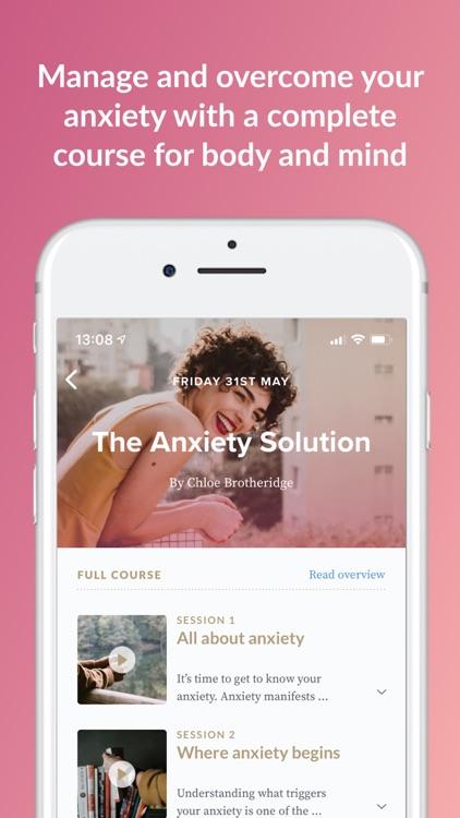 Anxiety Solution: A Calmer You