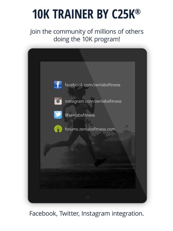 10K Trainer Pro by C25K® Screenshots