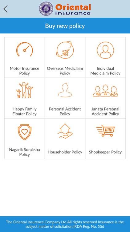 Oriental Insurance On Mobile screenshot-3