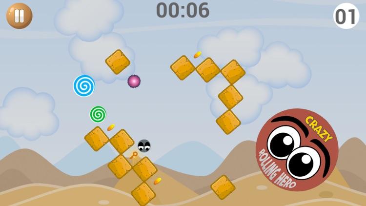 Crazy Rolling Hero screenshot-4