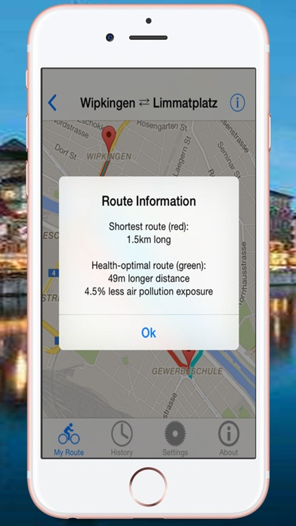 Health Route Guide - Zurich
