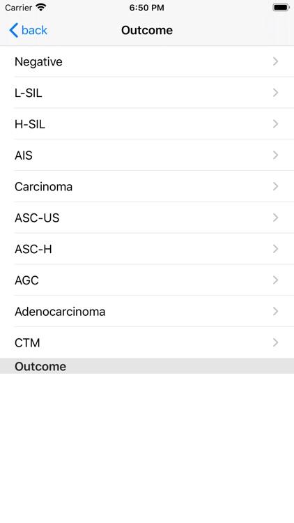 Uterine Cervix Test Pro screenshot-3