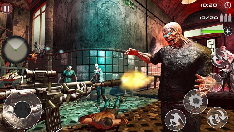 Zombie Shooting-Survival Games screenshot-4