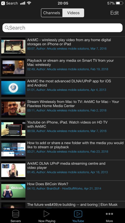 ArkMC Pro UPnP media streaming screenshot-5