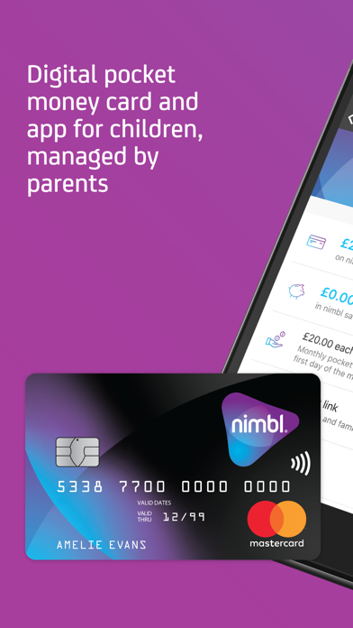 nimbl Banking for young people screenshot one