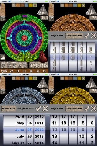Maya Stone Calendar - náhled