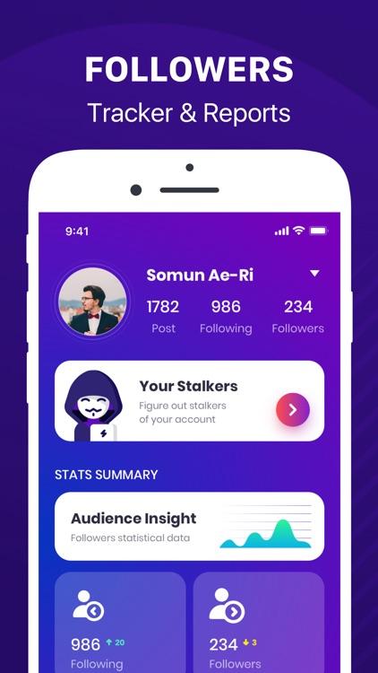 Followers+ Track for Instagram