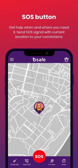 bSafe - Personal Safety App on the App Store