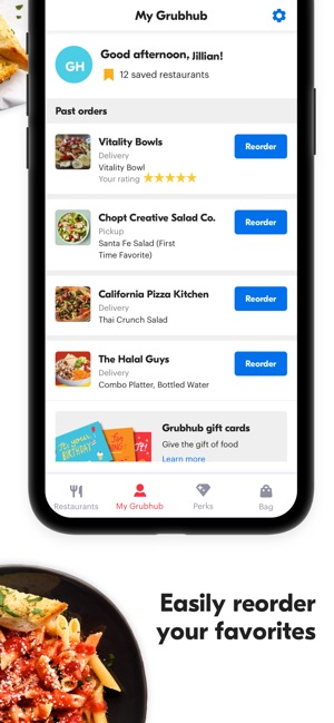 Grubhub Local Food Delivery On The App Store