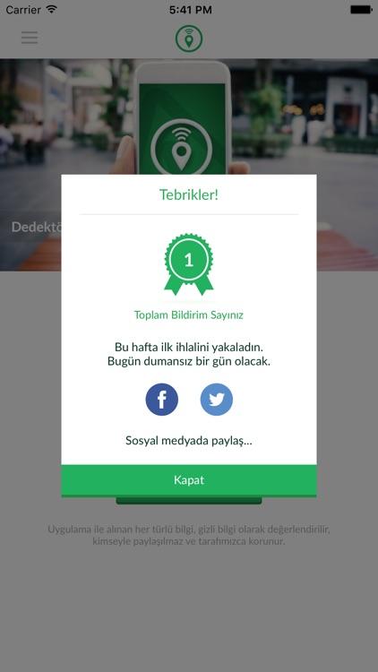 Yeşil Dedektör screenshot-4