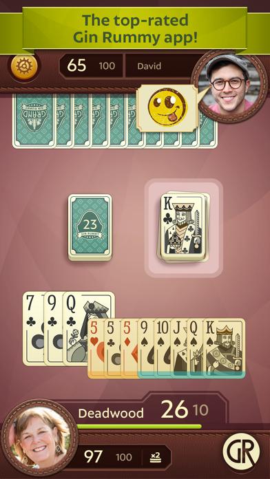 Grand Gin Rummy 2: Card Game screenshot one