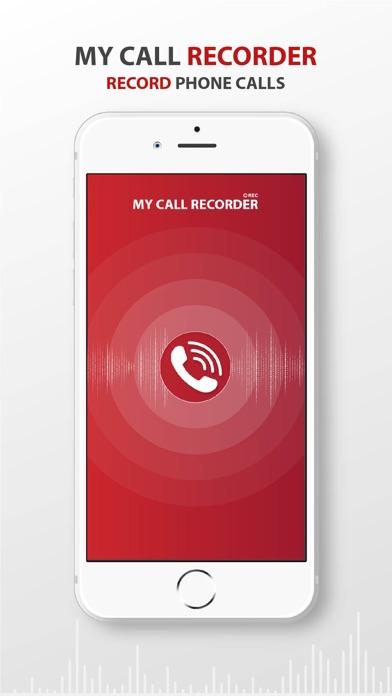 My Call Recorder -Record Calls screenshot one