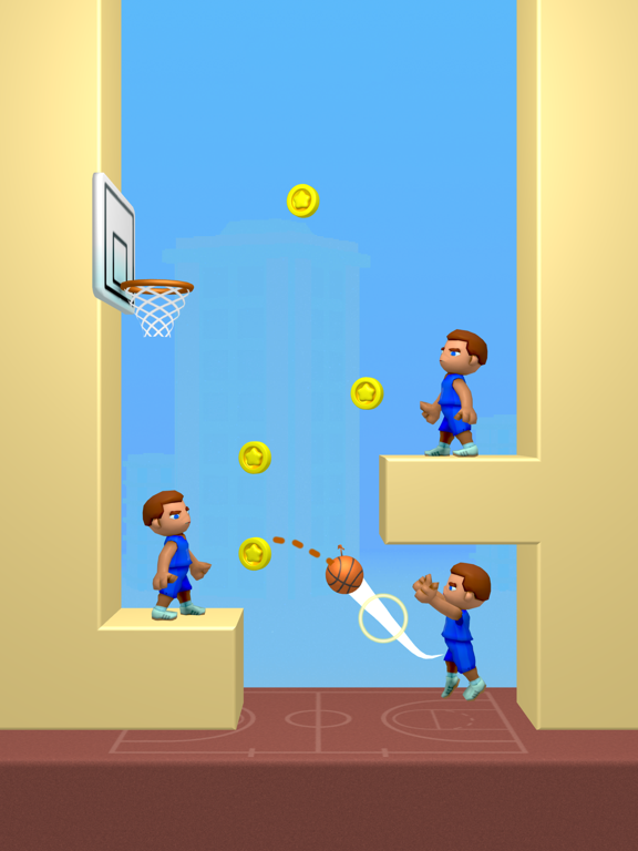 Doodle Dunk iPad app afbeelding 4